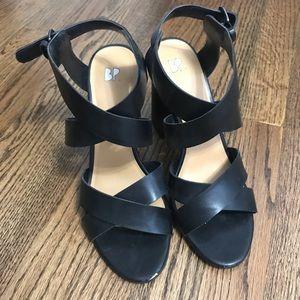 Black BP (Nordstrom brand) block heels size 9.5